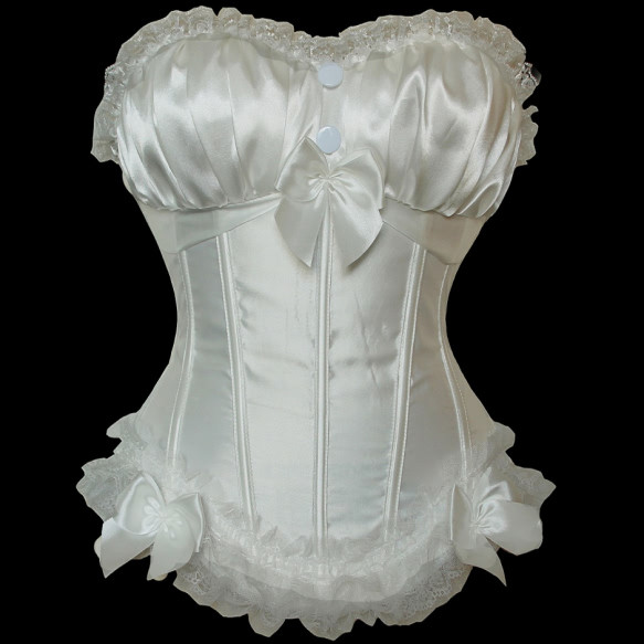 LA8899W  Peasant Burlesque Corset dresses