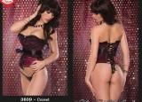 lxm3609A purple corset top