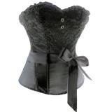 lxm3609BLACK black corset top