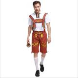 2818 brown  beer maid costume