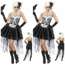 LQZ-v6848 SEXY SKELETON costume