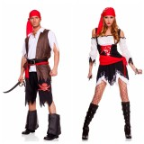 069 set Pirate Vixen Girl Costum