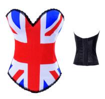 AME2269-3 Flag corset