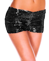 LA145-1 black sequin panty