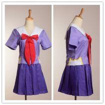Future Diary Cosplay Costume Mirai Nikki 2nd Gasai Yuno Gasai School Uniform