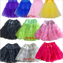 petticoats 3 different length
