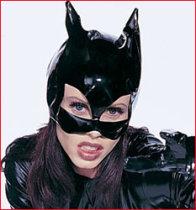 V1103 Vinyl Cat Mask