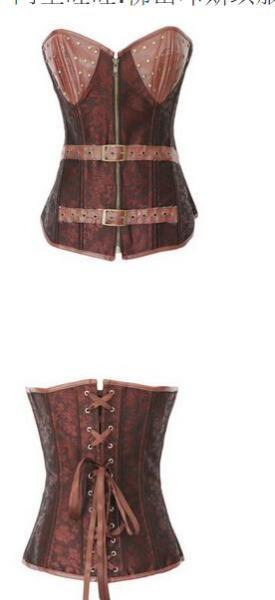 0924 S-6XL steempunk corset