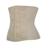 B019-1 lace steel bone latex corset