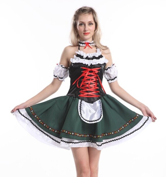 033 beer maid costume