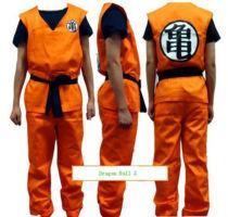 Anime Dragon Ball Z GoKu Cosplay Costume Set Fancy Party clothing