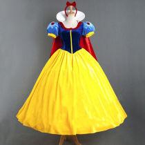 Fashion Adult Party Fancy Dress Disney Snowwhite Princess Dress Cosplay Costume