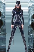 ZT9202 Leather catsuit