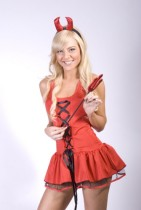 zy203 l_costume-fancy-dress-red-devil  ZY203