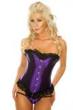 LA036-4 purple corset