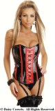 JL5212 sexy leather corset