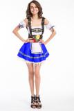 4798 BLUE  oktoberfest costume