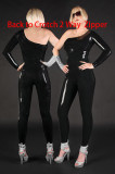 XY-7108 leather catsuit