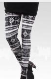 y106-2 snowflake legging
