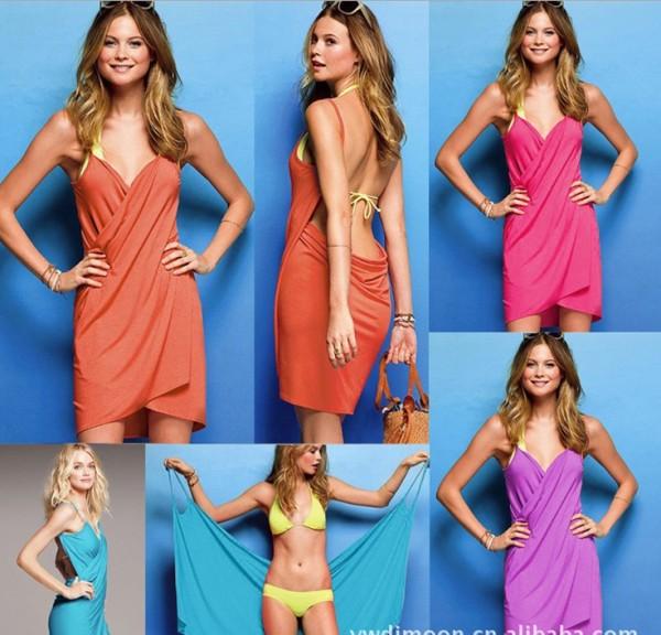 VB001 sexy beach dress bikini inside (moq 5 pcs/size)