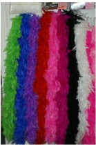 flapper feather boa moq10pc