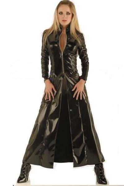 11060(LKH1051)stretch leather dress