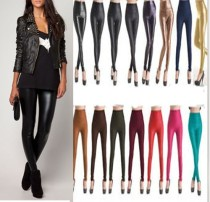 XH-0123-11 faux leather legging wear