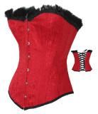 LA6004 red corset CLEARANCE 32pcs m