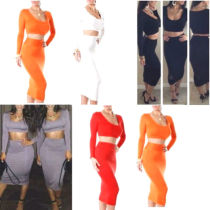 CD034  Celeb Ladies Bodycon Pencil  Crop Bandage Cheap
