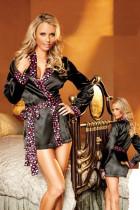 LKH2012 sexy satin robe
