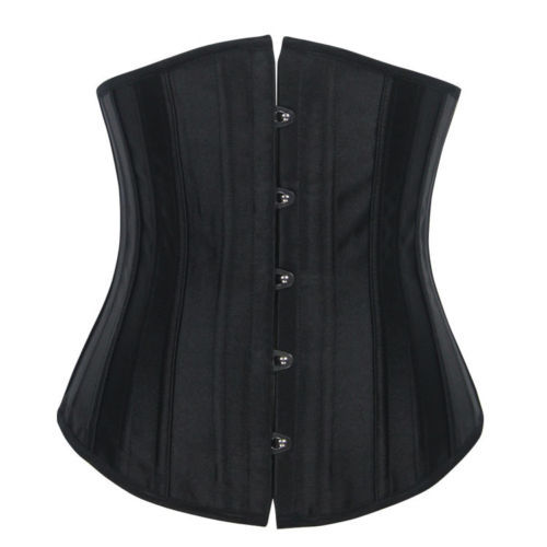 7056 24 Steel Boned New Sexy Stain Corset Busiter Waist Woman Corsets