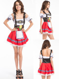 4798 RED oktoberfest costume