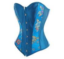 A8912 Turquoise Corset