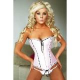 A906 pink corset