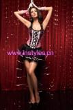 1315-7039  pink burlesque costume
