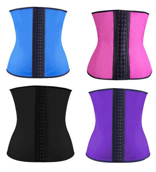 110201 9 steel bone waist trainer