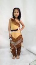 458 kids Children Pocahontas costume