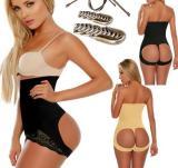 D558  Women Control Panty Shapewear Butt Lifter Tummy Waist Cincher Magic Boy Short