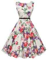 Women Short Cheap 1950s Vintage Pinup Dresses