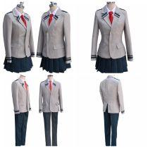 Boku no Hero Academia AsuiTsuyu Yaoyorozu Momo School Uniform