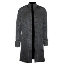 18002  Victorian Frock Coat Gothic Steampunk Jacket