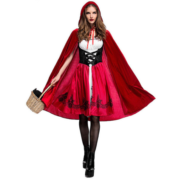 PS3013  S-3XL red riding hood costume
