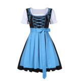 099 Plus Size Female German Oktoberfest Dirndl Dress
