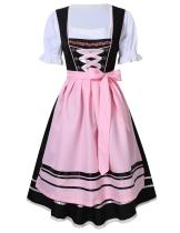 175B-11 womens Oktoberfest Beer Maid Outfit Bavarian Dirndl