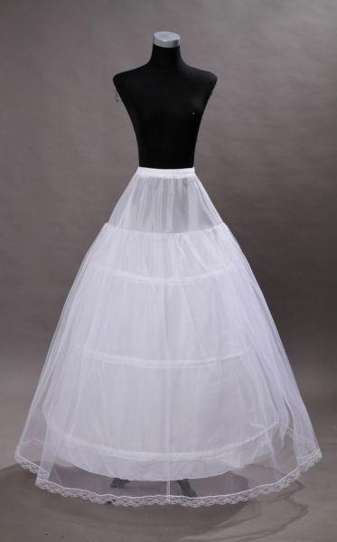 3 Hook Royal Gown Skirt Petticoat