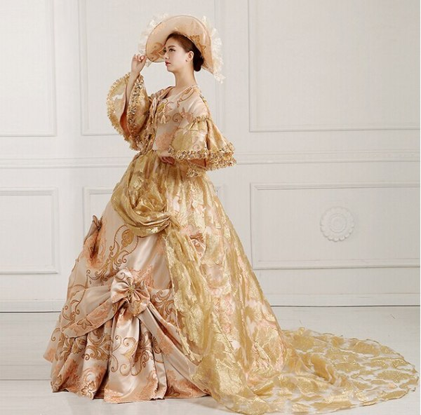 Fancy Victorian Medieval Renaissance Costume
