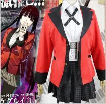 Anime Kakegurui Yumeko Jabami costume