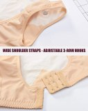 M-3XL Posture Corrector Lift Up Bra Women New Cross Back Bra Breathable Underwear Shockproof Sports Support Fitness Vest Bras