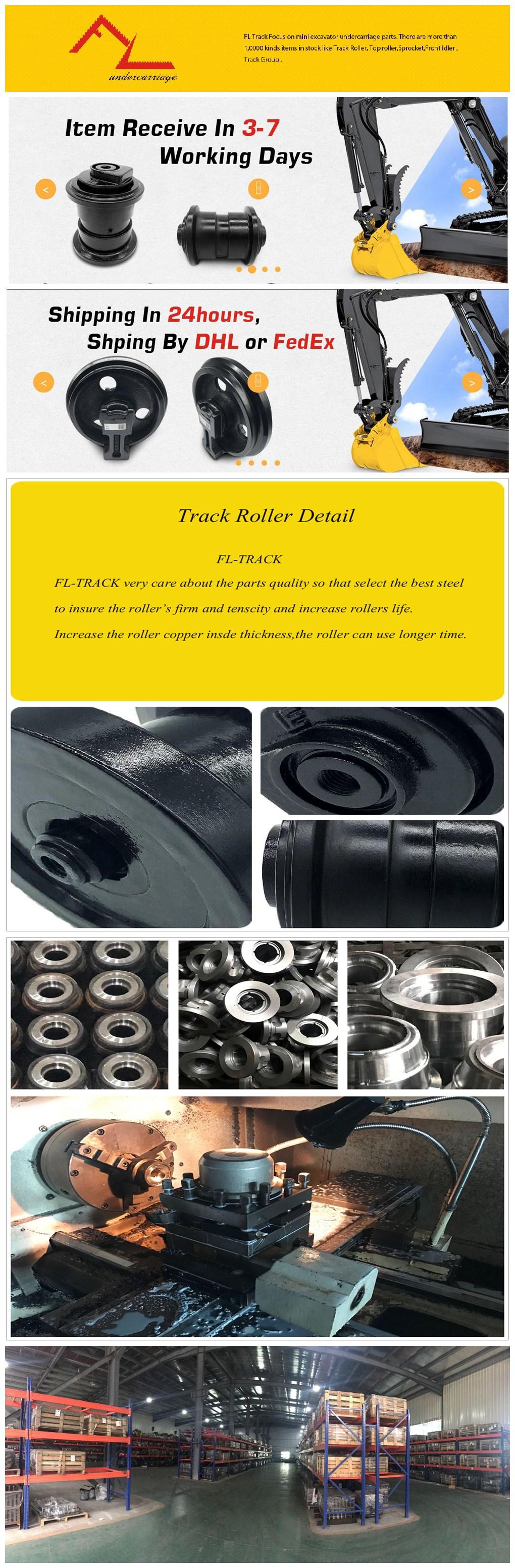 The Mini Excavator Track roller Bottom roller for KUBOTA KH65