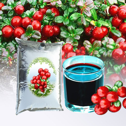 Cowberry juice concentrate
